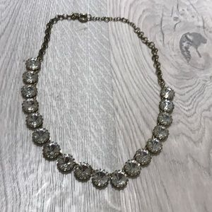 JCrew Diamond Adjustable Collar Necklace